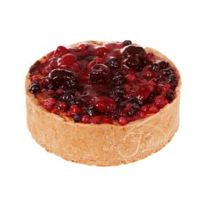 Cheesecake cu topping de fructe de pădure