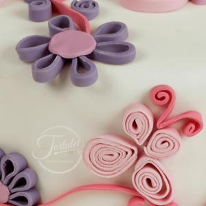 Tort flori quilling ea 2