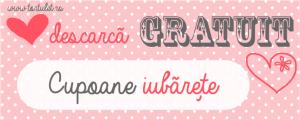 Valentines blog cupoane gratuit